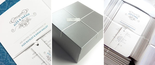 Luxury Wedding Stationery Delivery