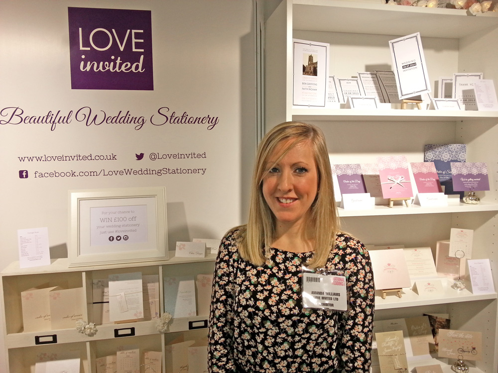 Love Invited at the National Wedding Show Manchester
